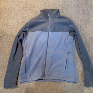 Men's Columbia Fleece Zip Up Jacket - Never Worn
